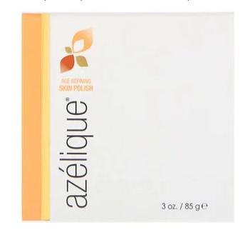 Azelique, Антивозрастное шлифующее средство для очищения и отшелушивания кожи, без парабенов и сульфатов, 85 г (3 унции)