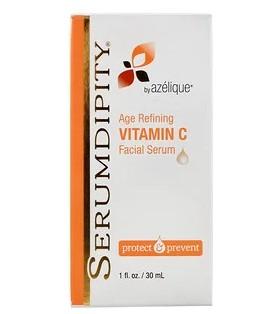 Azelique, Serumdipity, антивозрастная сыворотка для лица с витамином C, 30 мл (1 жидк. унция)