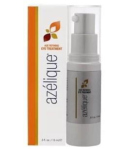 Azelique, Антивозрастное средство для глаз с азелаиновой кислотой, омолаживающее и увлажняющее, без парабенов, без сульфатов, 0,5 жидкой унции (15 мл)