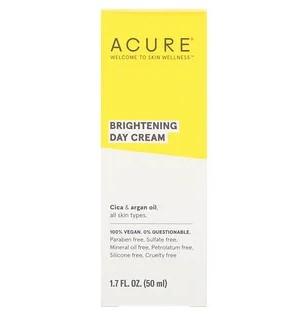 Acure, Brilliantly Brightening, дневной крем, 1,7 ж. унц. (50 мл)