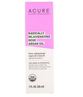 Acure, Радикально омолаживающее масло розы и арганы, 30 мл (1 жидк. унция)