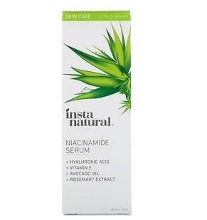 InstaNatural, Сыворотка с ниацинамидом, 2 унции (60 мл)