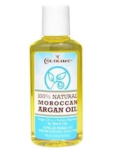 Cococare, На 100% натуральное марокканское аргановое масло, 60 мл (2 жидк. унции)