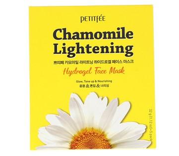 Petitfee, Осветляющая ромашка, гидрогелевая маска для лица, 5 штук по 1,12 унц. (32 г)