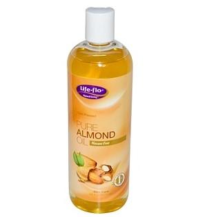 Life-flo, Чистое миндальное масло для ухода за кожей, 473 мл