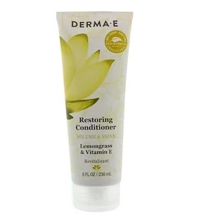Derma E, Restoring Conditioner, Lemongrass & Vitamin E, 8 fl oz (236 ml)