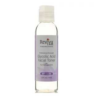 Reviva Labs, Тоник для лица с гликолевой кислотой, 118 мл