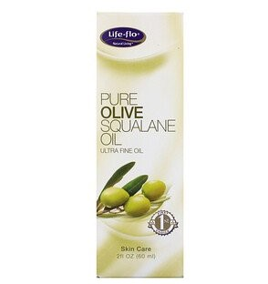 Life-flo, Pure Olive Squalane Oil, 2 fl oz (60 ml)