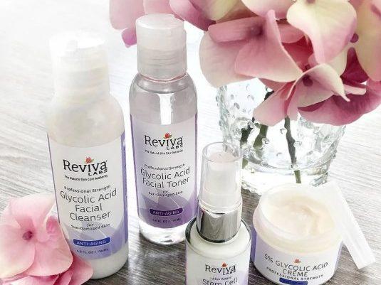 средства для лица и тела Reviva Labs
