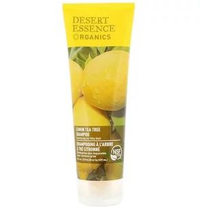 Desert Essence, Органическая серия, шампунь, лимон и чайное дерево, 237 мл