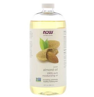 Now Foods, Решения, масло сладкого миндаля, 946 мл (32 жидк. унции)