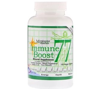 Morningstar Minerals, Immune Boost 77, минеральная добавка, 120 вегетарианских капсул