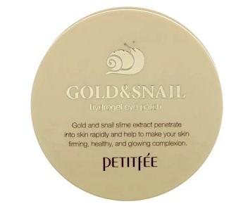 Petitfee, Патч на глаза с гидрогелем Gold & Snail, 60 шт.