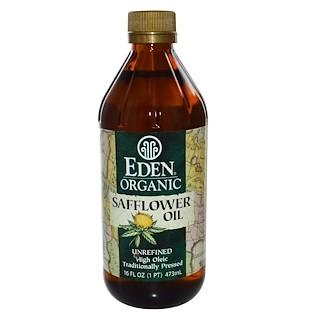 Eden Foods, Органическое сафлоровое масло, нерафинированное, 16 жидких унций (473 мл)
