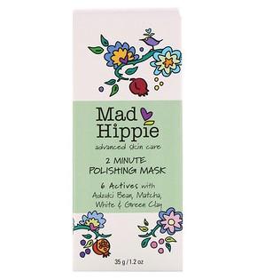 Mad Hippie Skin Care Products, 2-минутная шлифующая маска, 35 г
