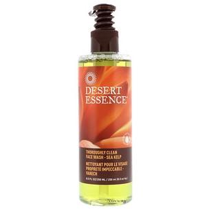 Desert Essence, Очищающий гель для умывания, тщательная очистка, морские водоросли, 8,5 ж. унц. (250 мл)