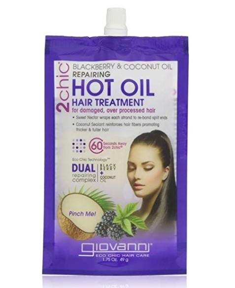 Giovanni Blackberry/Coconut Repairing Hot Oil Hair Treatment, 1.75 Fluid Ounce