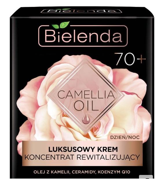 BIELENDA / Эксклюзивный крем-концентрат оживляющий 70+ CAMELLIA OIL