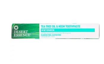 Desert Essence, Зубная паста с нимом, маслом чайного дерева и гаультерией 6,25 унц. (176 г)