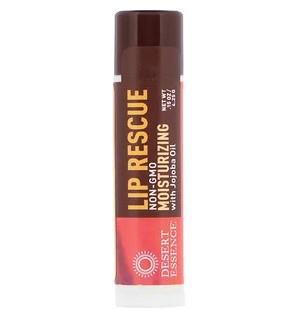 Desert Essence, Lip Rescue, увлажняющий бальзам для губ с маслом жожоба, 4,25 г
