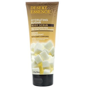 Desert Essence, Hydrating Sugar Body Scrub, 6.7 fl oz (198 ml)
