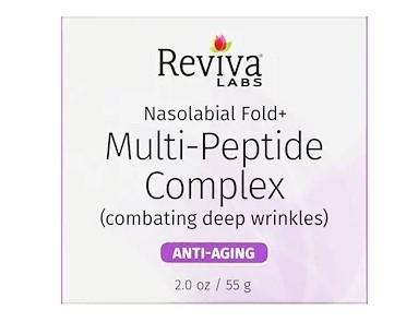 Reviva Labs, Носогубная складка+ мульти-пептидный комплекс, 2 унции (55 г)