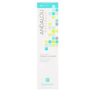 Andalou Naturals, Очищающее и укрепляющее кожу средство с кокосовым молоком, восстановление кожи, 5,5 ж. унц. (163 мл)