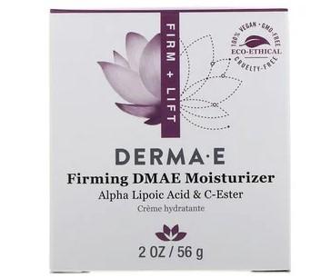 Derma E, Увлажняющее средство с ДМАЭ, придающее коже упругость, с альфа-липоевой кислотой и эфиром витамина C, 56 г (2 унции)