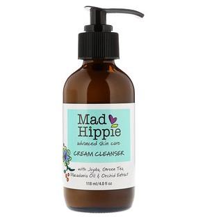 Mad Hippie Skin Care Products, Кремовое Средство для Умывания, 13 Активных Веществ 4.0 жидких унции (118 мл)