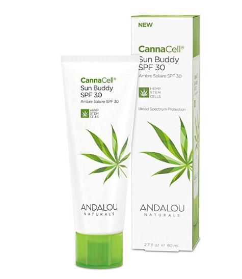 Andalou Naturals Cannacell SPF 30 Sun Buddy Facial Lotion