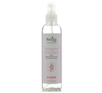 Reviva Labs, Розовая вода-спрей для лица, 8 унц. (236 мл)