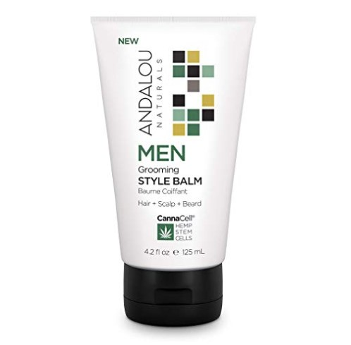Andalou Naturals CannaCell MEN Grooming Style Balm 4.2 fl oz