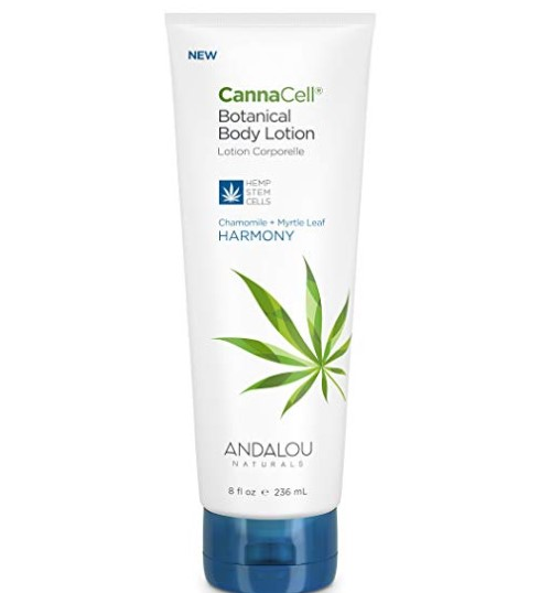 Andalou Naturals CannaCell Body Lotion - HARMONY 8 fl oz
