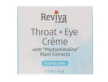 Reviva Labs, Крем для шеи и области вокруг глаз, 1,5 унции (41 г) Произведено Ревива Лабс