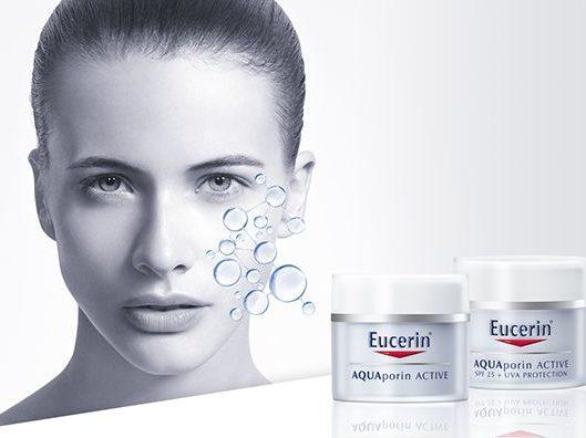 средства Eucerin Aquaporin