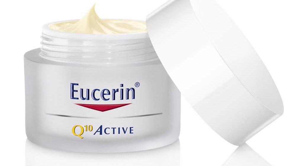 средства Eucerin Q10 против морщин