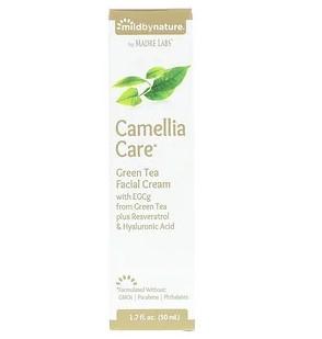 Mild By Nature, Camellia Care, крем для кожи с ЭГКГ из зеленого чая, 50 мл (1,7 жидк. унции)