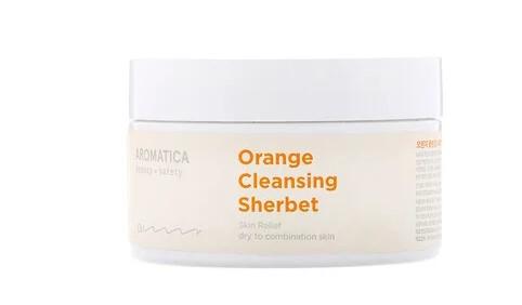 Aromatica, Orange Cleansing Sherbet, 6.3 oz (180 g)