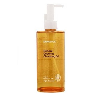 Aromatica, Natural Coconut Cleansing Oil, 10.1 fl oz (300 ml)