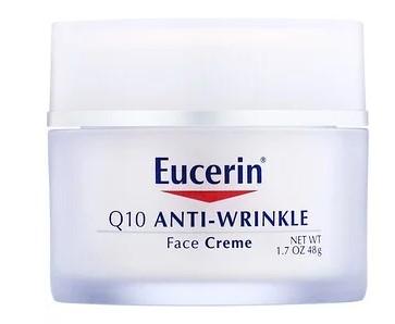 Eucerin, Крем для лица против морщин с коэнзимом Q10, 48 г (1,7 унции)