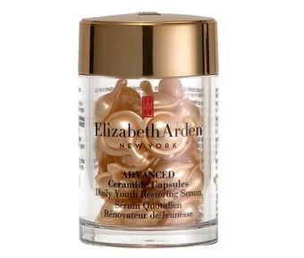 Elizabeth Arden, Ежедневные улучшенные керамидные капсулы с антивозрастной сывороткой, 30 капсул, 14 мл (0,47 жидк. унции)