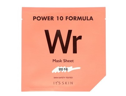 It's Skin, Power 10 Formula, WR Mask Sheet, Anti-Wrinkle, 1 Sheet, 25 ml (Discontinued Item)