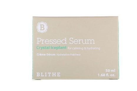 Blithe, Спрессованная сыворотка, «Хрустальная трава», 50 мл
