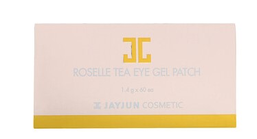 Jayjun Cosmetic, Гелевый патч для глаз с чаем каркадэ, 60 патчей, по 1,4 г каждый