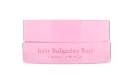 Koelf, Гидрогелевые патчи для глаз с рубином и болгарской розой, 60 шт.