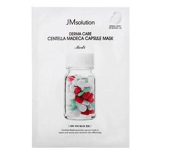 JM Solution, Derma Care Centella Madeca Capsule Mask, 1 Sheet, 30 ml