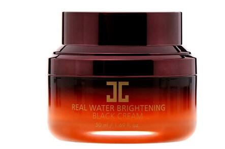 Jayjun Cosmetic, Черный крем, усиливающий сияние кожи, на водной основе, 1,69 унц. (50 мл)