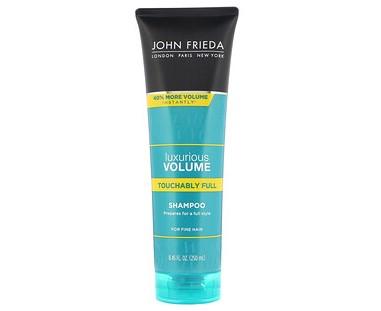 John Frieda, Luxurious Volume, Touchably Full Shampoo, For Fine Hair, 8.45 fl oz (250 ml)