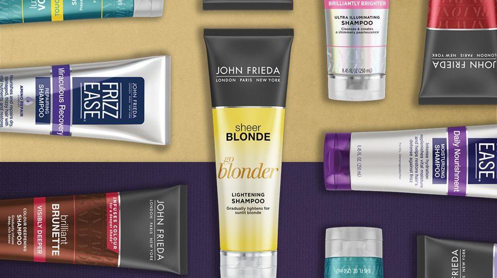 обзор шампуней John Frieda для волос